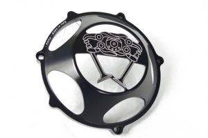 Kbike Kupplungsdeckel Desmo offen schwarz