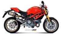 Mivv GP Suono Sportauspuffanlage mit ABE Ducati Monster 796