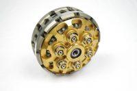 Sechsfeder Antiopping Kupplung der Firma Kbike mit Kupplungskorb. Verkauft wird die Kupplung mit allen Anbauteilen.-gold