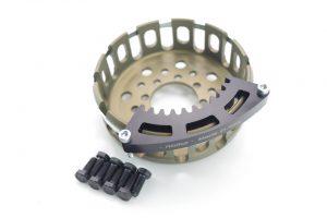 Kbike Kupplungkorb mit Haltewerkzeug für Ducati mit 12 Zahn Trockenkupplung!