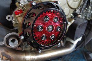 Ducati Panigale Umbaukit auf eine Antihopping Trockenkupplung des Herstellers Kbike