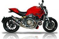 "QD Auspuff ""Magnum"" Carbon - Monster 821 / 1200 / 1200S 2013-2015"
