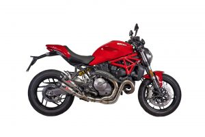 Monster 1200 QD Auspuffanlage Euro 4