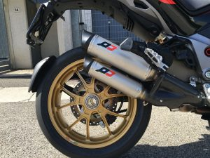 QD Multistrada TitanMagnum Auspuffanlage 1260 Ducati