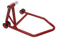 SD-TEC Montageständer Linea rossa 27,5 mm Einarmschwinge, links, rot - Triumph, KTM ...