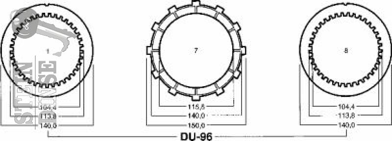 Adige Kupplungskit komplett - Ducati 748, 851, 888, 916, 996, 900 SS, Monster, ST2, ST4...